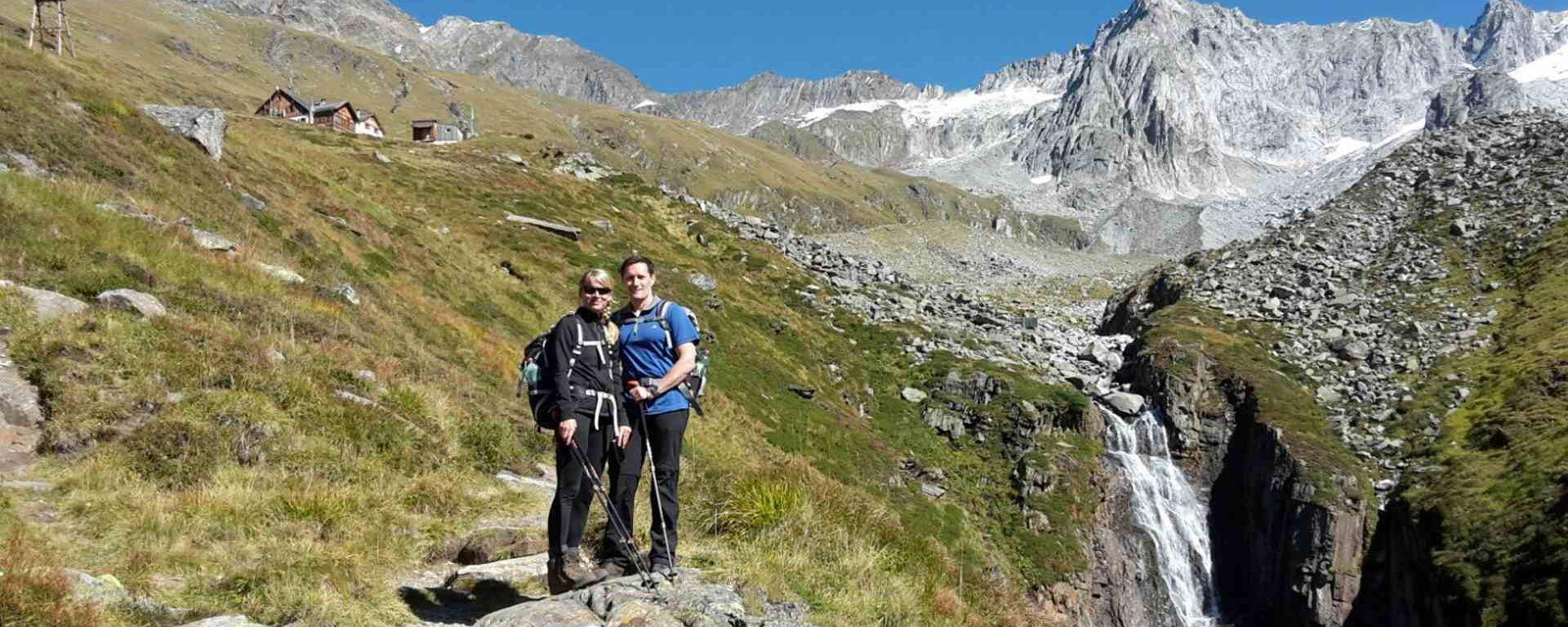 Tina & Thomas von tourtricks im Zillertal