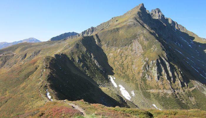 Abzweig zum Alpinsteig