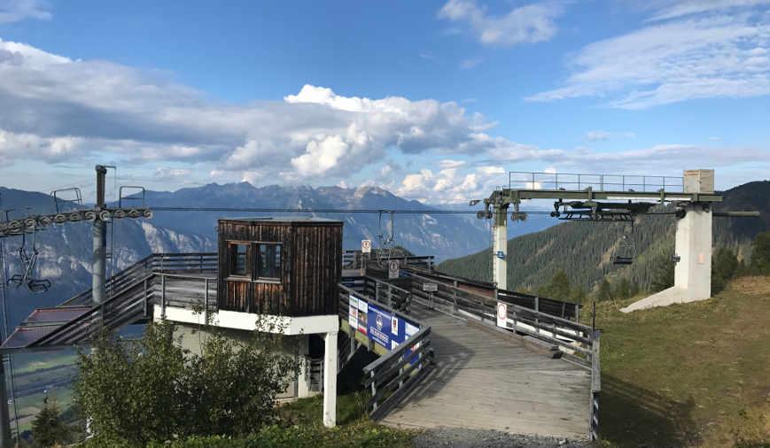 Bergstation Kellerjochbahn am Hecherhaus