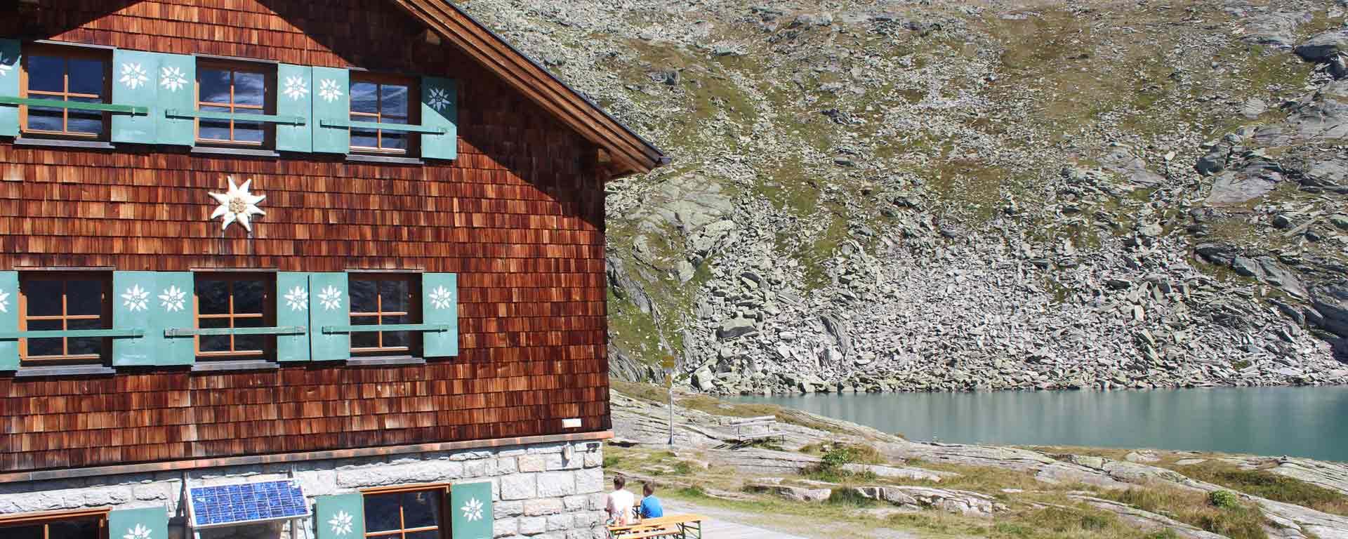 Foto von der Zittauer Hütte