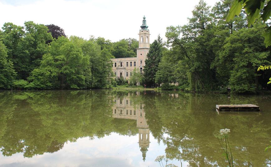 Foto vom Schloss Dammsmühle