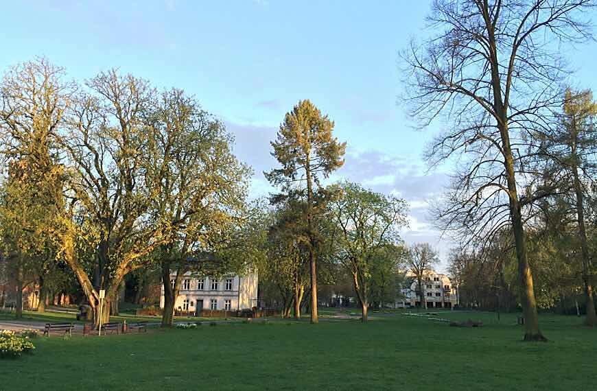 Foto vom Stadtpark Bernau