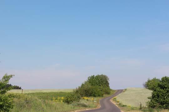 Foto von der Landschaft bei Peetzig
