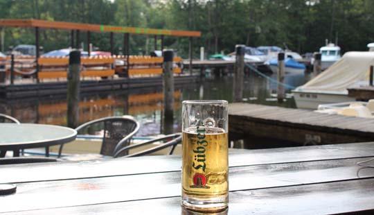 Foto vom Wasserwanderrastplatz in Eggesin