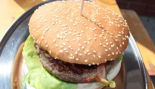 Foto vom Hamburger bei Joe's Burger in Torgelow