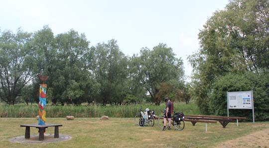Bild vom Wasserwanderrastplatz in Pasewalk