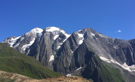 Aussicht Aufstieg Rotbachlspitz
