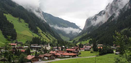 Dorfrunde Ginzling schöne Aussicht