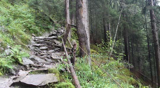 Wanderweg zur Maxhütte