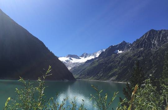 Foto vom Schlegeis Stausee Zillertal