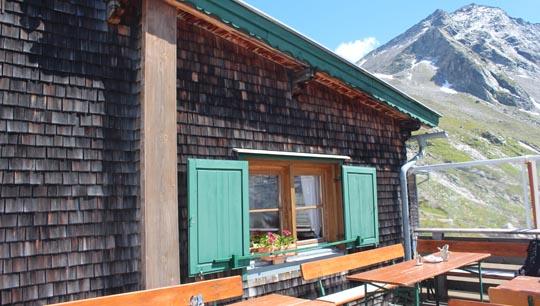 Terrasse Kasseler Hütte