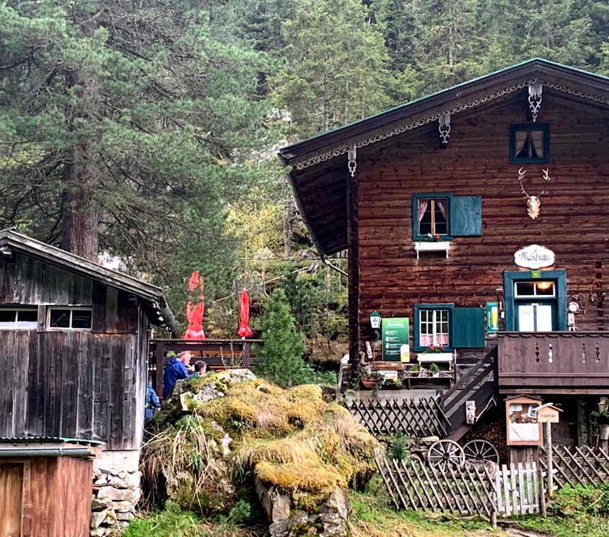 Maxhütte in der Gunggl im Zillertal