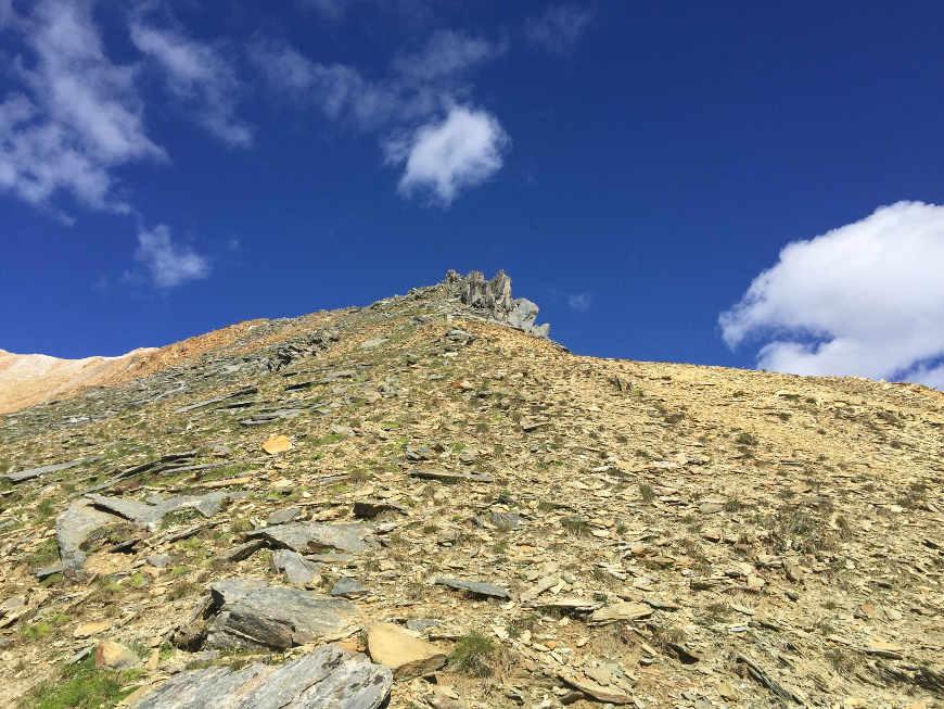 Aufstieg Rotbachlspitze