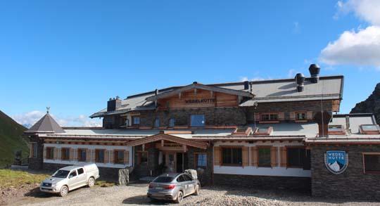 Wedelhütte im Zillertal