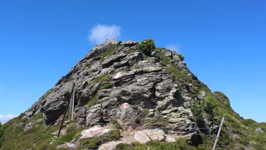 Aufstieg Wetterkreuzspitze