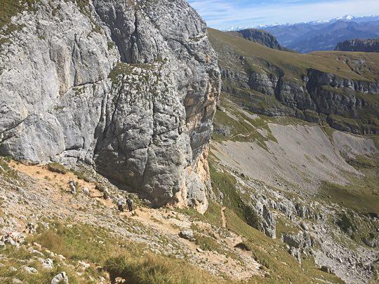 Aufstieg Gipfelkreuz Hochiss Achensee