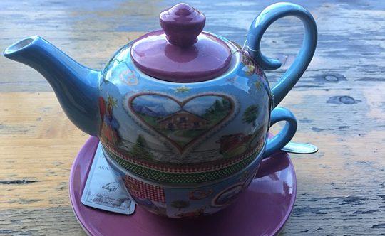 Teekanne Buchauer Alm