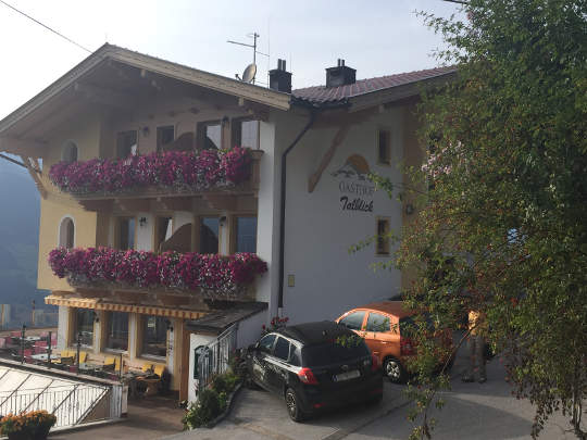 Talblick Gasthof Stumm im Zillertal