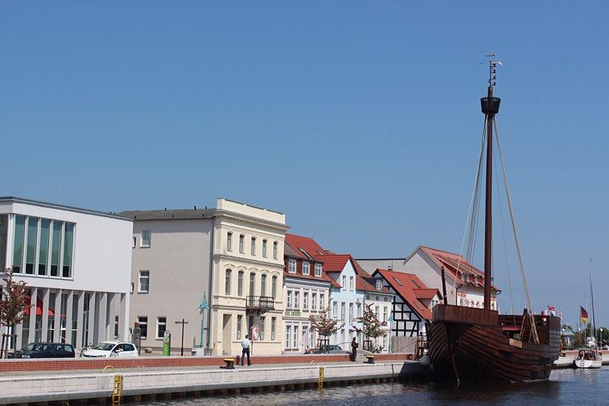 Ueckermünde am Hafen