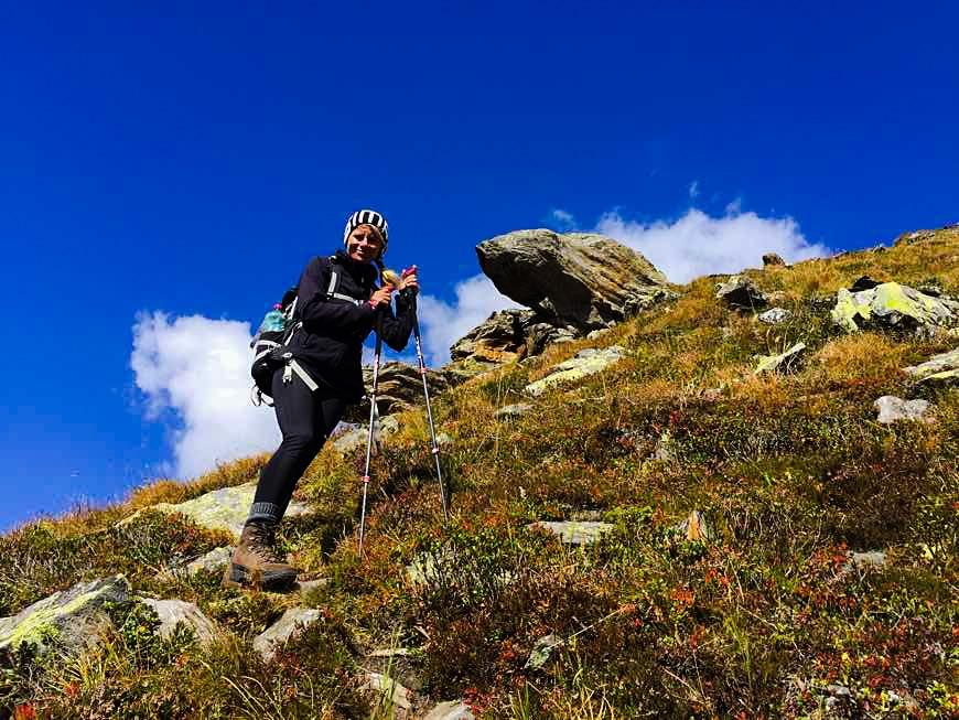 Aufstieg Gaulkopf Zillertal