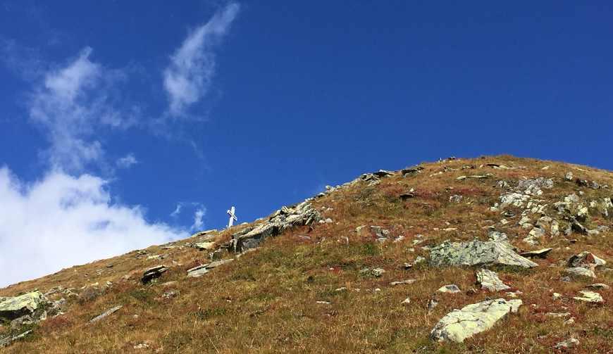 Gipfel des Gaulkopfs im Zillertal