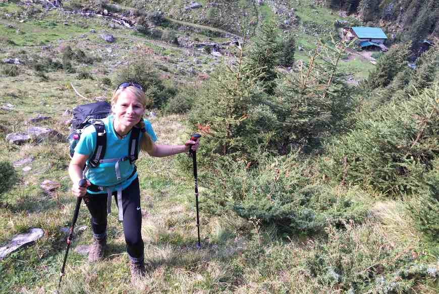 Weg Gaulkopf oberhalb Maxhütte