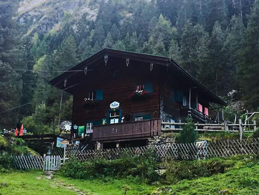 Maxhütte in der Gunggl