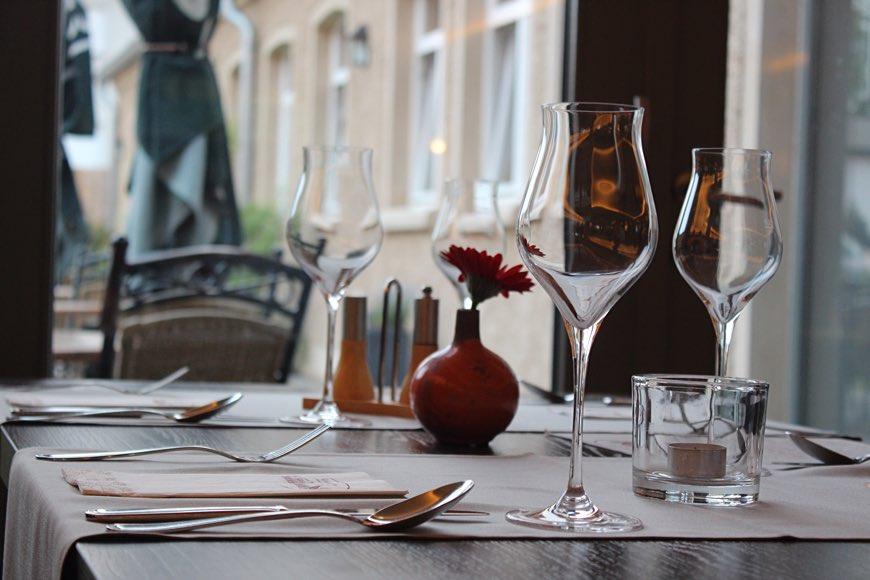 Restaurant Remise Schloss Stolpe von innen