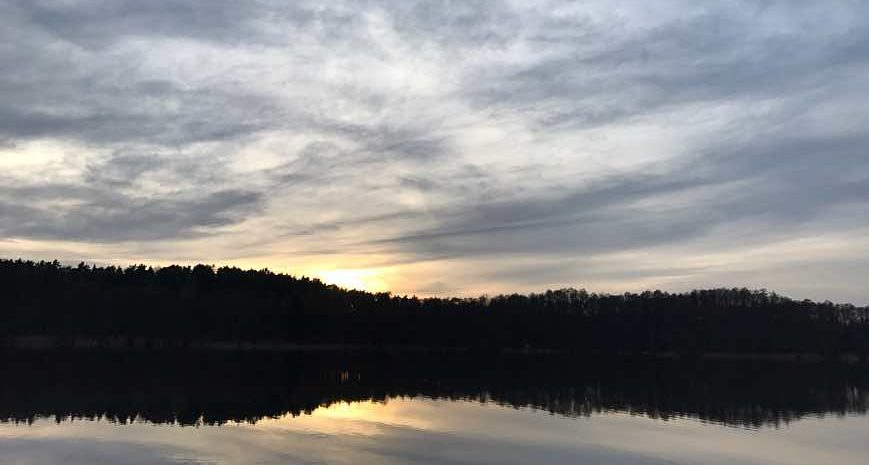 Foto Sonnenuntergang Buckowsee