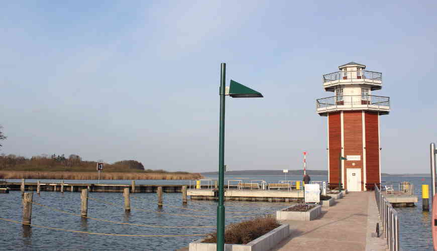 Leuchtturm Plau am See Kalkofen