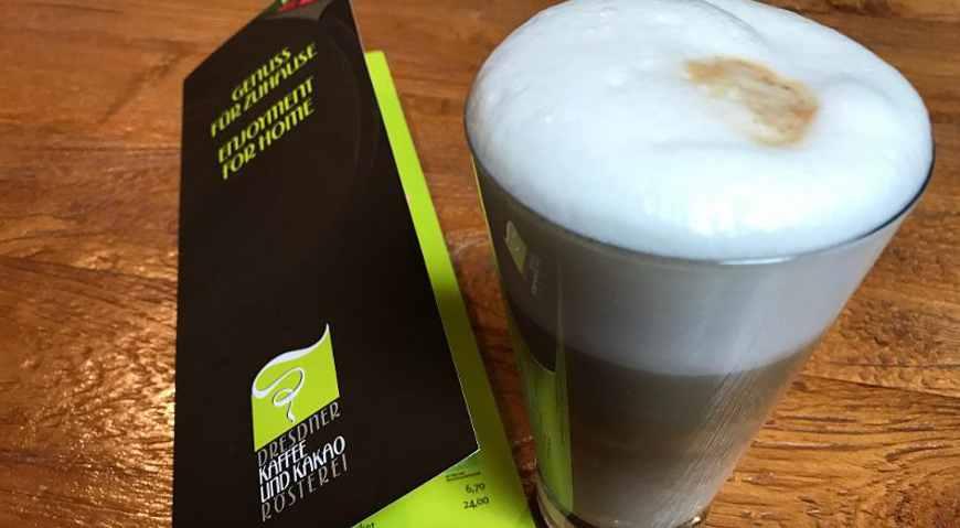 Kaffeeglas Dresdner Kaffeerösterei