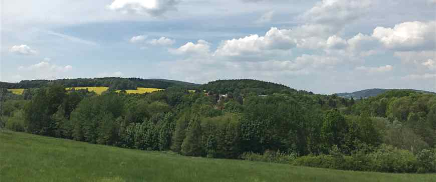 Oberlausitzer Bergland bei Schirgiswalde
