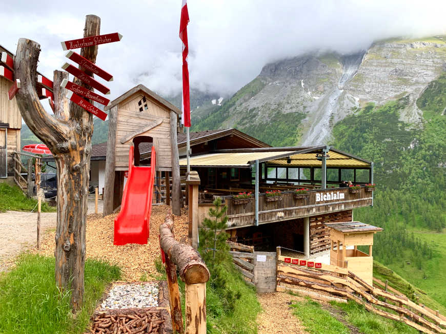 Bichlalm in Hintertux, Zillertal