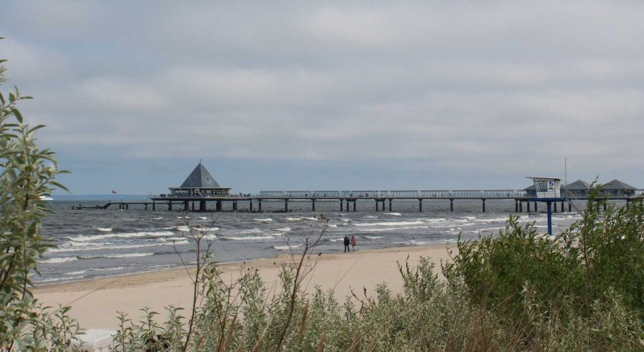 Strand an Ostsee bei Ahlbeck