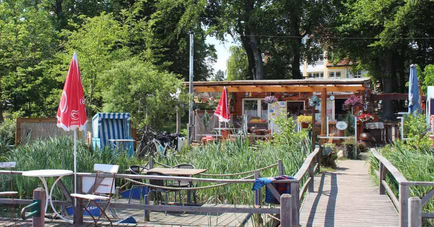 Idyll am Wolgastsee Usedom