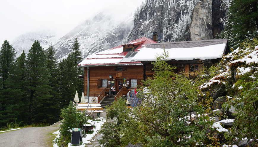 Foto von Grawandhütte