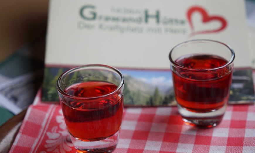 Foto Gratisschnaps Grawandhütte Zirbe