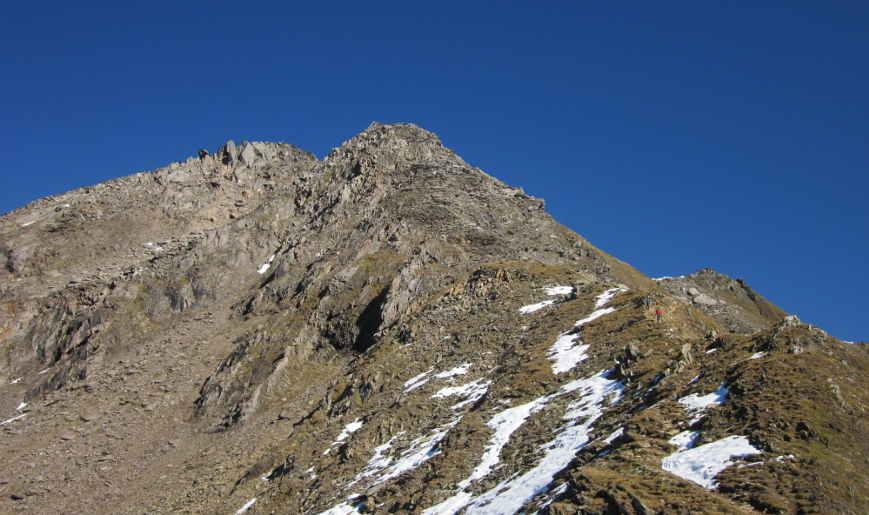 Aufstieg zur Ahornspitze ab Edelhütte