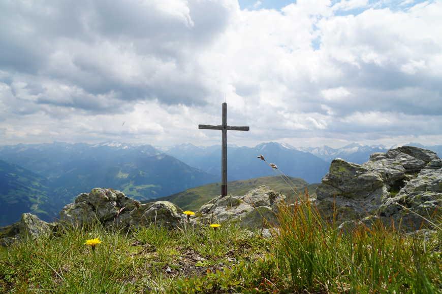 """Gipfelkreuz """"der Gipfel"""" Zillertal"""