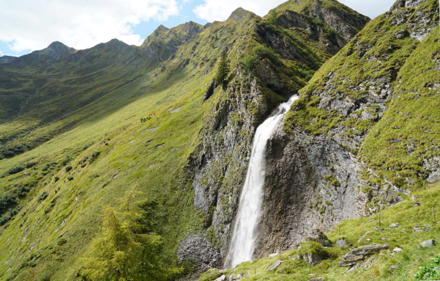 Schleierwasserfall Hintertux Zillertal