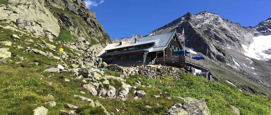 Kasseler Hütte im Zillertal