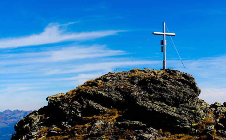 Gipfelkreuz Pangert Zillertal