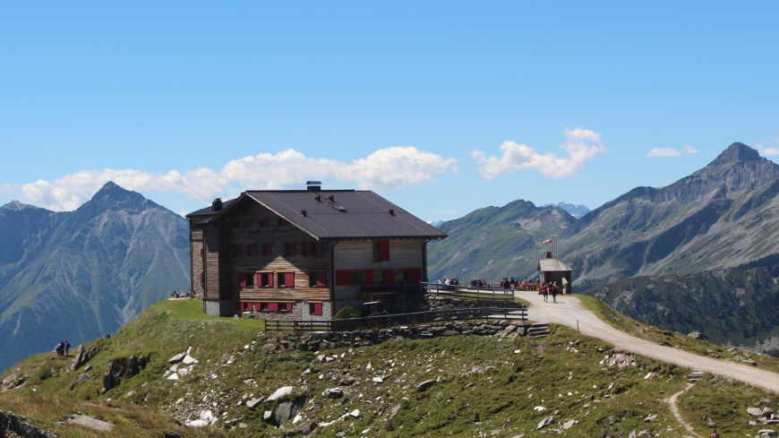 Das Pfitscherjochhaus im Zillertal
