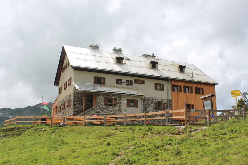 Rastkogelhütte im Zillertal
