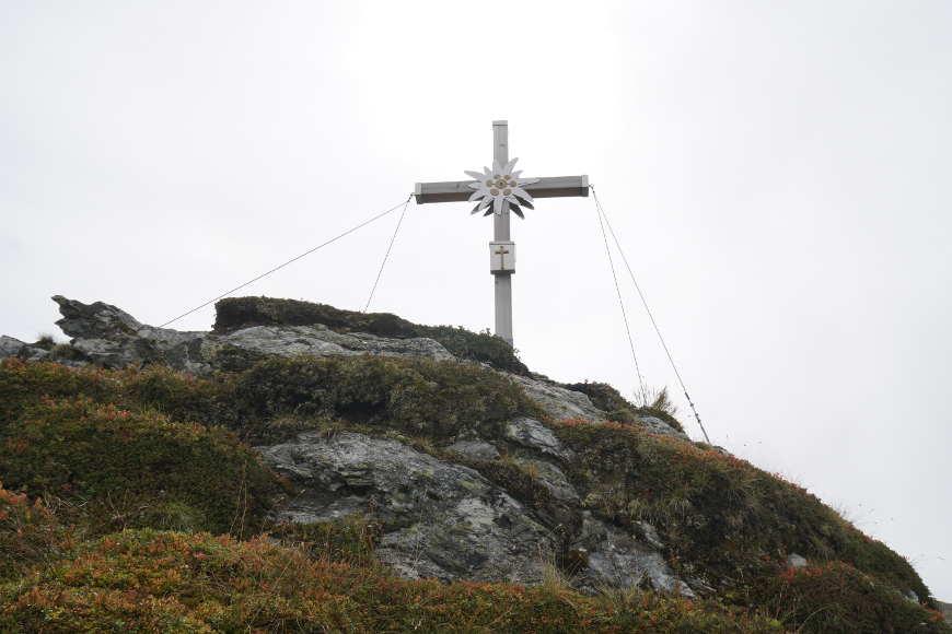 Gipfelkreuz Steinkarspitze Zillertal