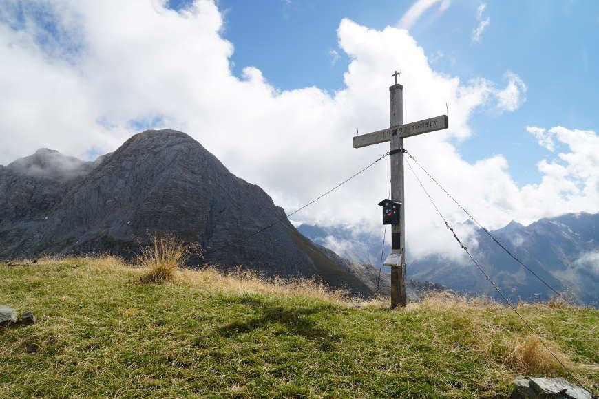 Gipfelkreuz Torhelm Zillertal