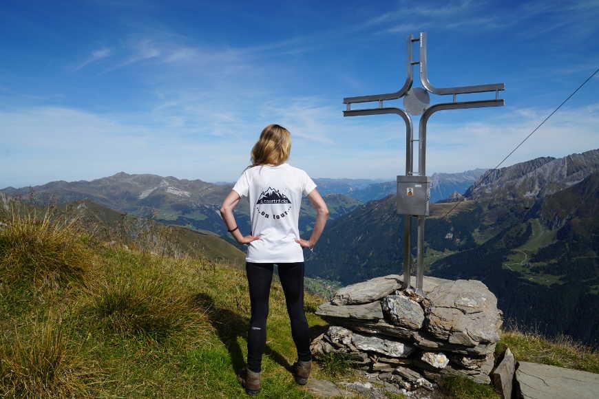 Gipfelkreuz der Wandspitze im Zillertal