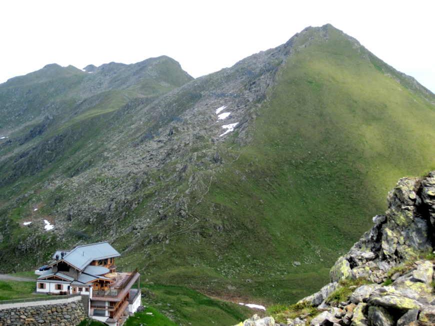 Wedelhütte mit Wimbachkopf
