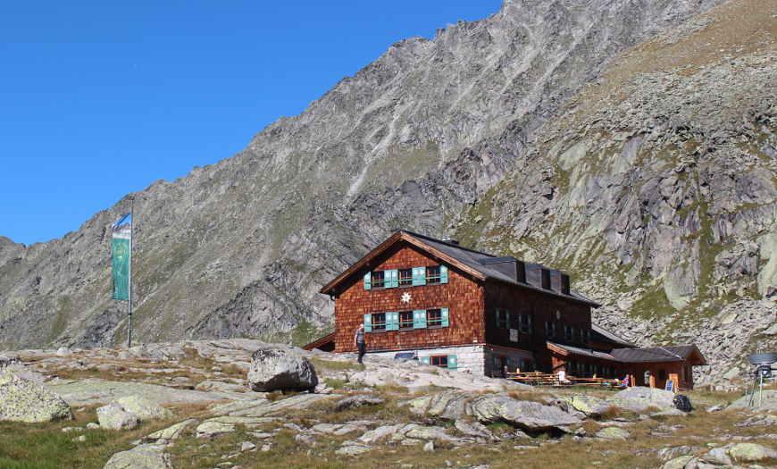 Zittauer Hütte im Zillertal