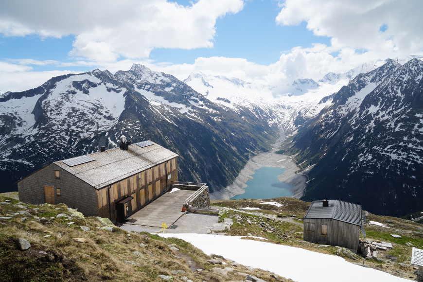 Olperer Hütte im Zillertal